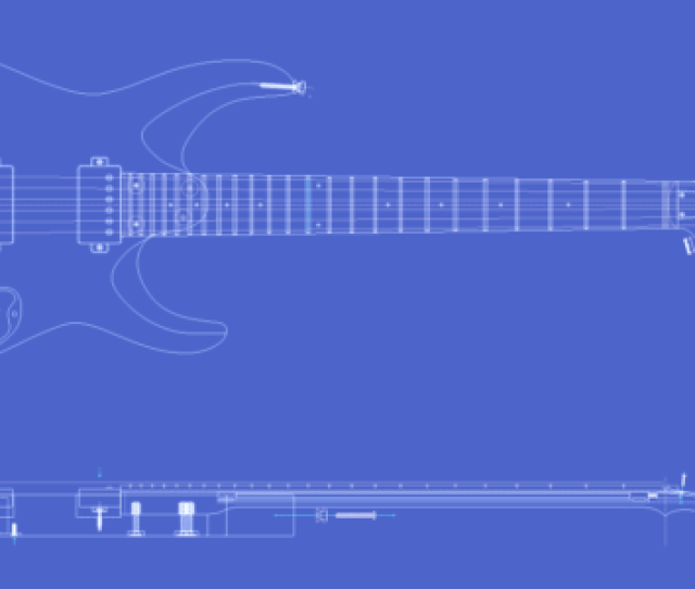 Msk Guitars Mk1hh24 Model Blueprint