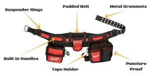 Milwaukee tool belt