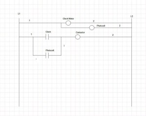 Lighting Contactor Wiring Diagram With Photocell | Diagram