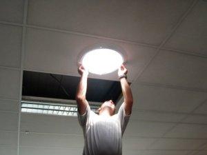 puits de lumière installation