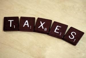 sur les taxes