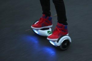 rouler en hoverboard