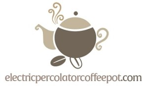 Electric Percolator Coffee Pot Logo
