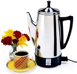 12-Cup Stainless Steel Coffee Makers