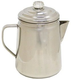 Coleman 12-Cup Stainless Steel Percolator Coffee Pot