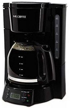Mr. Coffee BVMC-EVX23 12-Cup Programmable Coffeemaker, Black