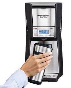 Hamilton Beach 12-Cup Coffee Maker, Programmable Brewstation Dispensing Coffee Machine, Summit Ultra