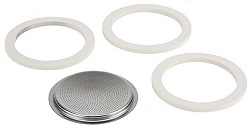 Bialetti 06617 Stainless Steel 10 Cup Gasket Filter Plate Replacement Parts