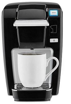Keurig K-Mini K15 Single-Serve K-Cup Pod Coffee Maker, Black
