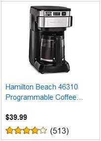 3 HAMILTON BEACH PROGRAMMABLE COFFEE MAKER