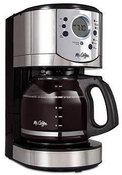 10a Mr. Coffee 12-Cup Programmable Coffee Maker with Brew Strength Selector - BVMC-CJX31-AM