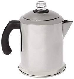 2a Farberware Classic Stainless Steel Yosemite 8-Cup Coffee Percolator