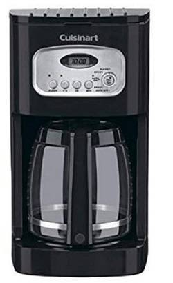 4a Cuisinart DCC-1100BK 12-Cup Programmable Coffeemaker, Black