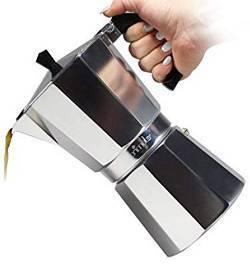 8a Primula PES-3306 Coffee Maker 6 Cups Aluminum