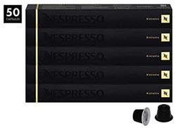 Nespresso Ristretto OriginalLine Capsules, 50 Count Espresso Pods