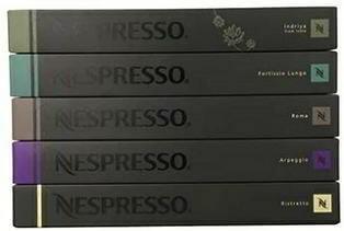 50 Nespresso OriginalLine Capsules variety pack - Intense Family