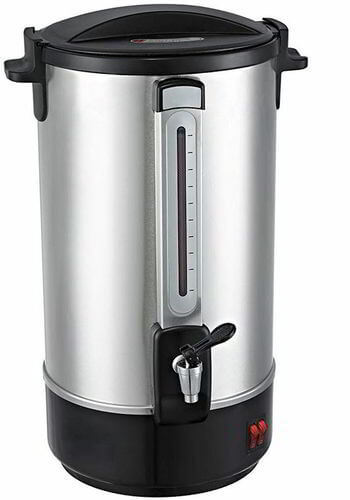 Classic Kitchen 28 Cup Stainless Steel Insulated Hot Water Urn