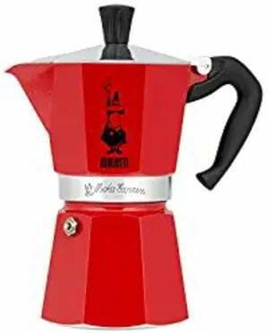 Bialetti 6633 6 Cup Moka Stovetop Espresso Maker, Red [2]