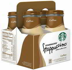 Starbucks Frappuccino Coffee, 9.5 Fl Oz (pack of 4)