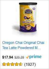 Oregon Chai Original Chai Tea Latte Powdered
