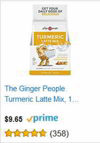 The Ginger People Turmeric Latte Mix,