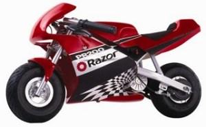 Razor PR200 Pocket Rocket Pocket Bike Rear Wheel Freewheel