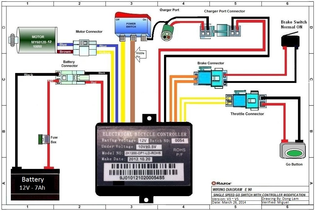 Collection Cycle Electric Wiring Diagrams Pictures - Wiring ...