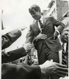 RFK in crowd