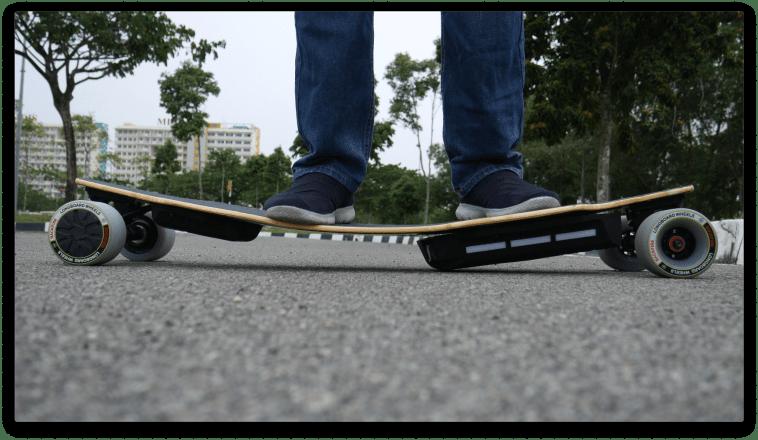 Backfire longboard deck flex test