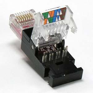 Rj45 Cat 6 Utp Tool Less Plug