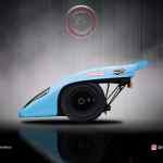 Porsche 917 la tête dans le cul
