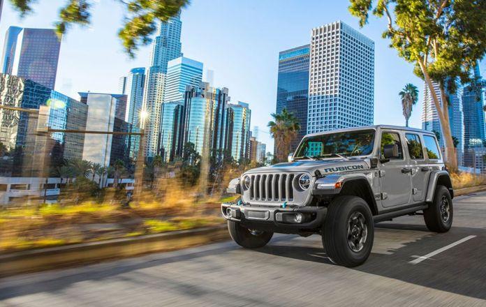 Jeep Wrangler hybride