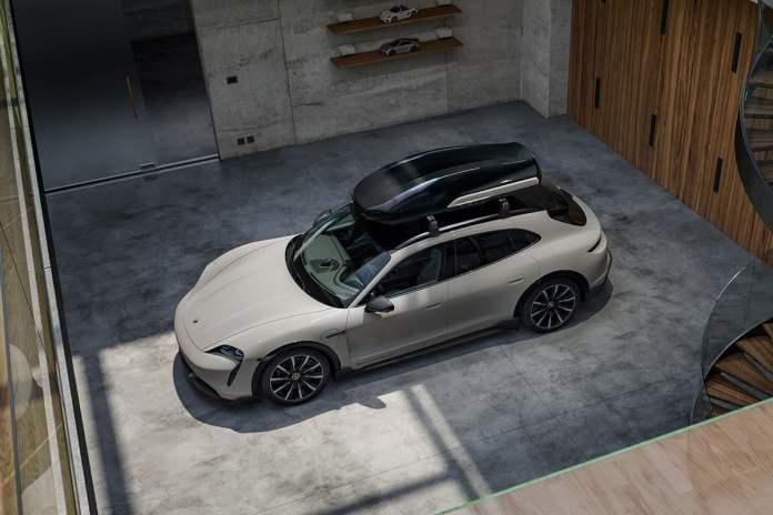 coffre Porsche Taycan