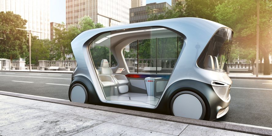 Bosch to debut autonomous electric shuttle at CES - electrive.com