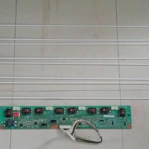 Carte Inverter + Les Tubes Télé WALTHAM WTHD3214B