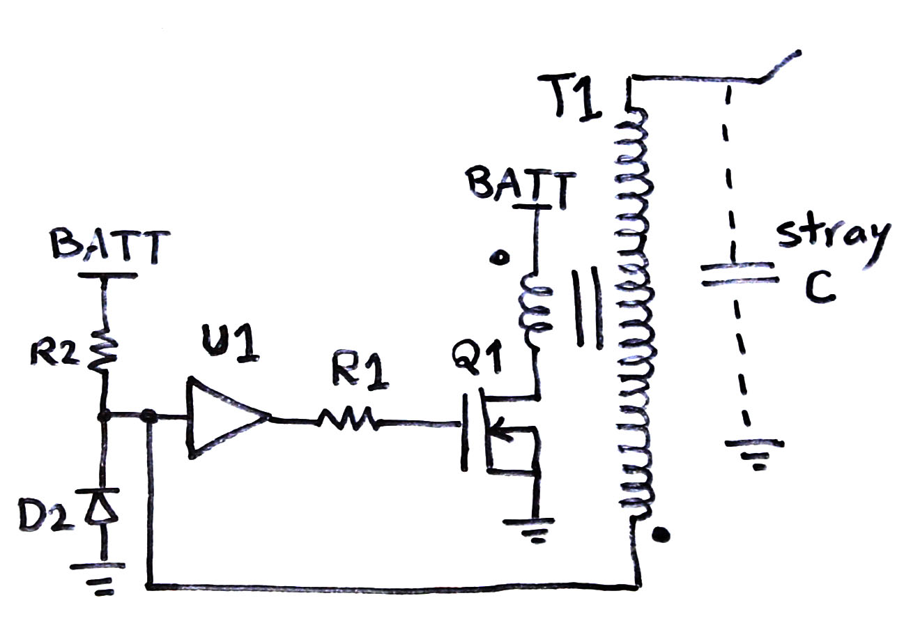 Ignition Coil Driver Schematic