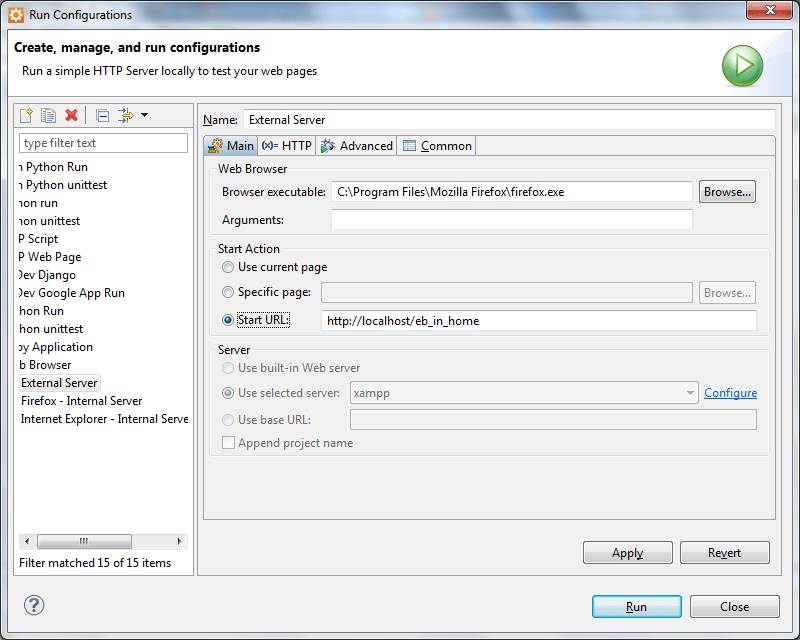 Aptana_Run_Configuration