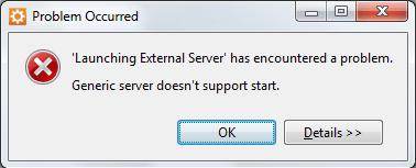 External_Server_Error_Aptana_Studio