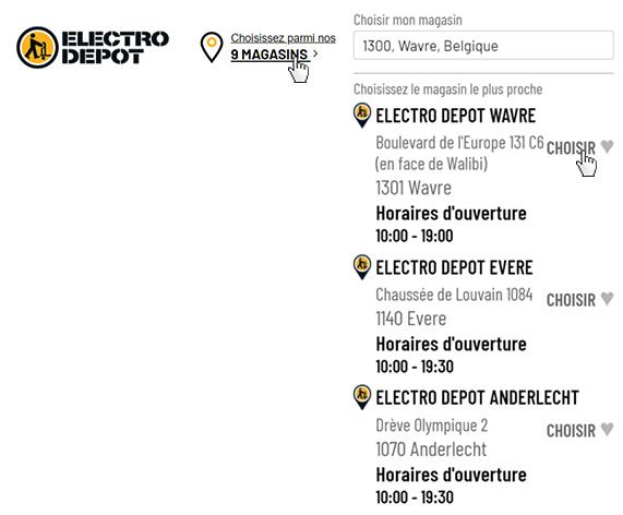 electro depot vente d electromenager