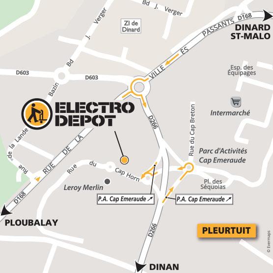 magasin electro menager pleurtuit