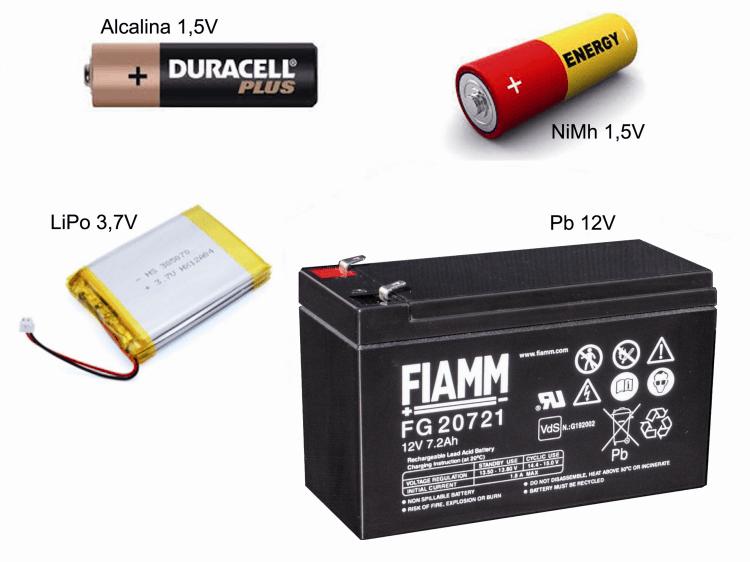 alimentar el arduino tipos de bateria - Electrogeek