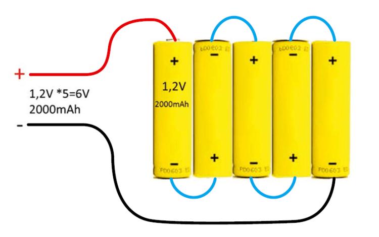 baterias serie - Electrogeek