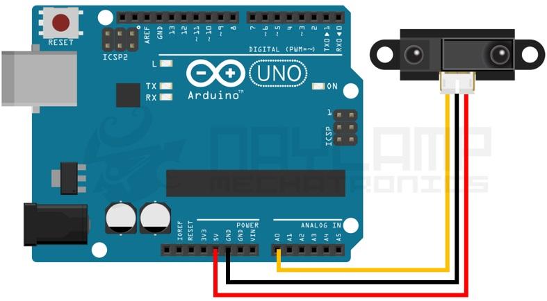 conexion SHARP y arduino - Electrogeek