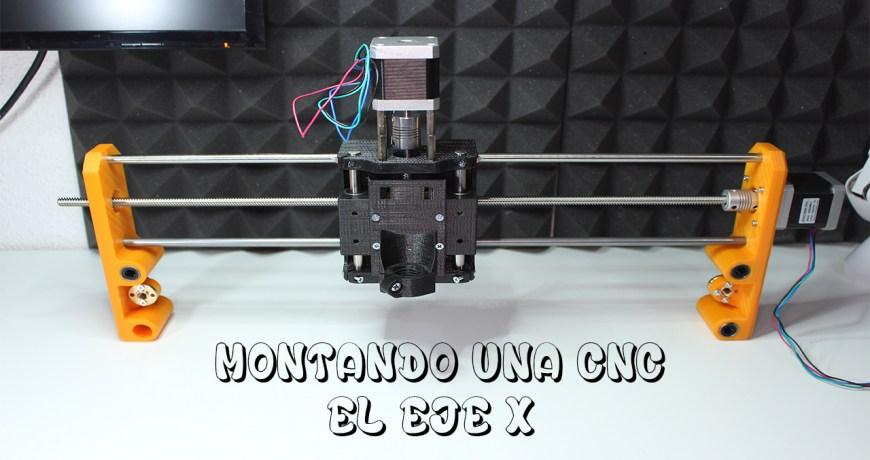 montaje cnc parte 3 eje - Electrogeek