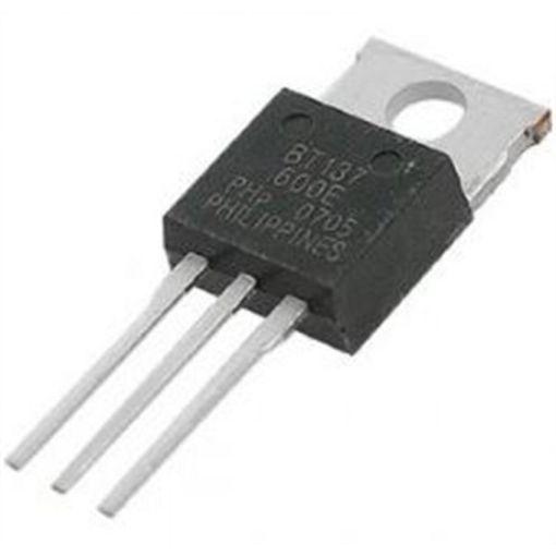 BT137 600 TRIAC 8A 600V - Electrogeek
