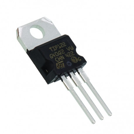 tip122 npn 100v 5a - Electrogeek