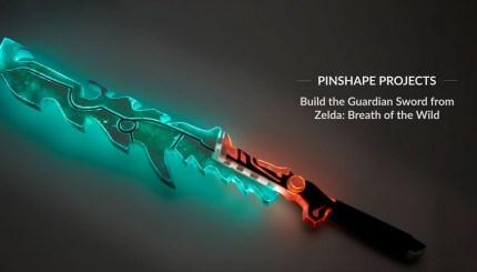 Imprime en 3D tu propia Espada de Guardian de Zelda - Electrogeek