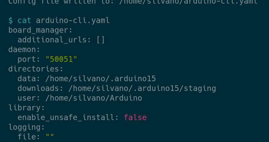 arduino cli 0 14 0 ya esta disponible y listo para el publico 5fd410665f7d1 - Electrogeek