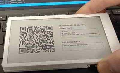 m5paper qr handshake 60038f14b70c2 - Electrogeek