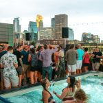 Mark Farina at the Hewing Hotel rooftop